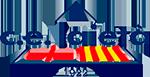 Club esportiu laietà barcelona Logo