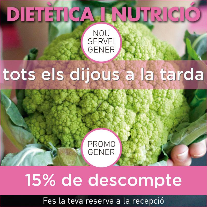 Promoció de gener en Dietètica i Nutrició