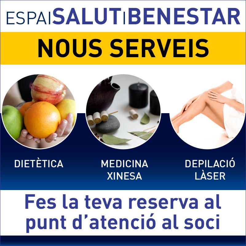 Ampliem el servei de l'ESPAI SALUT amb nous tractaments!