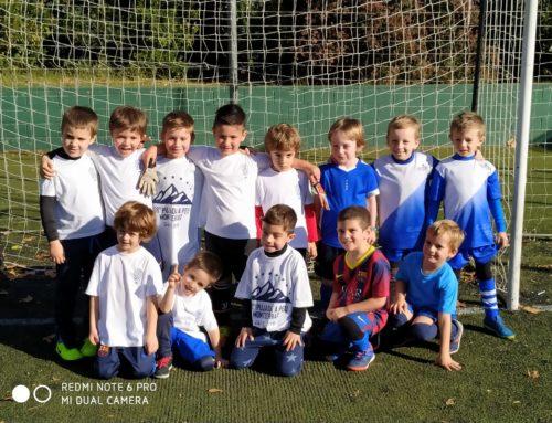 L'Escoleta de Futbol juga el seu primer partit de futbol-5