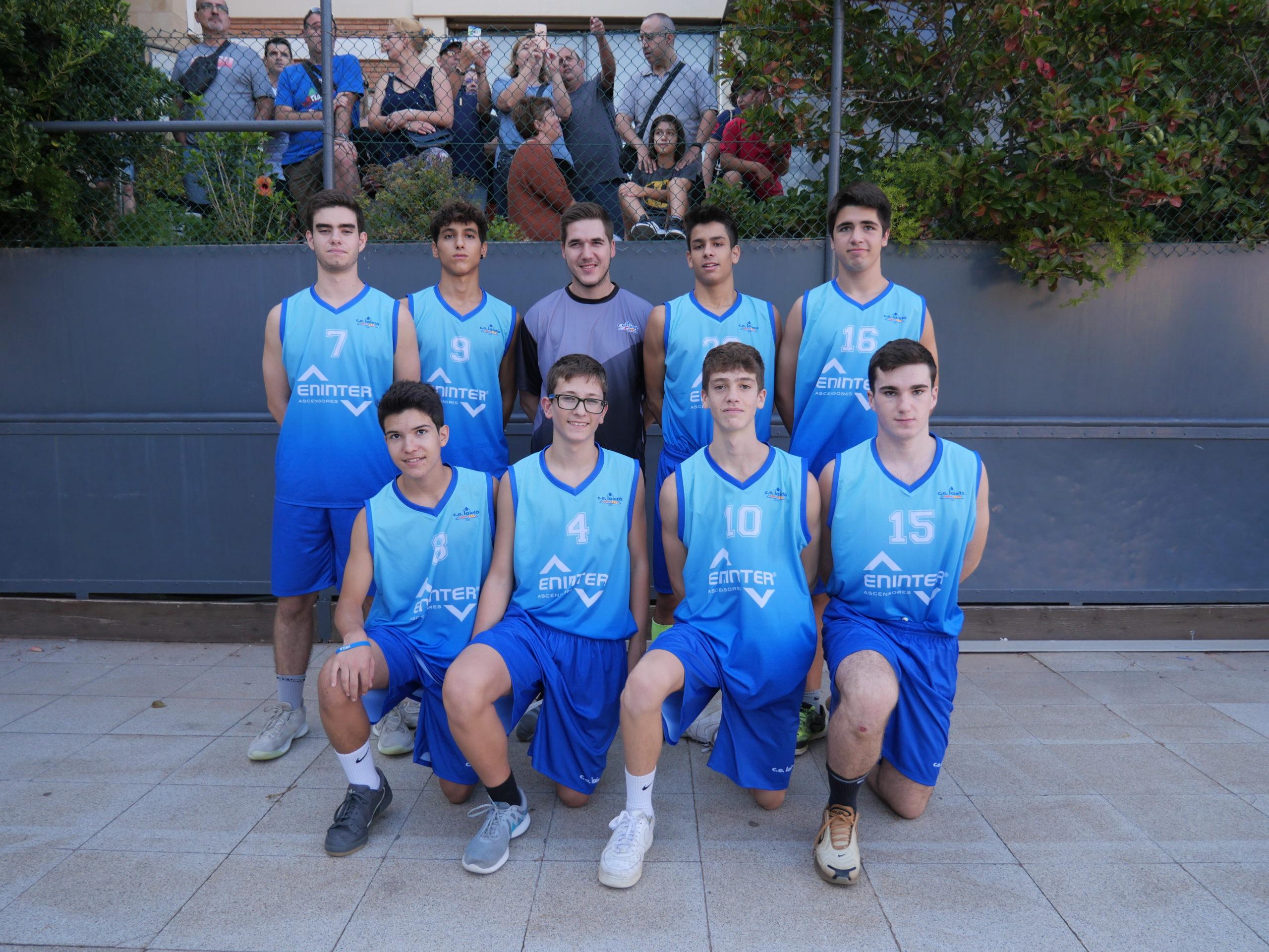 Bàsquet . . . coneguem el Cadet 04 Blau