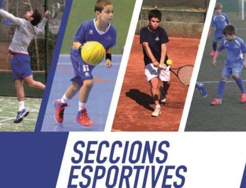 Ja està disponible la informació de les Seccions Esportives 2019-2020