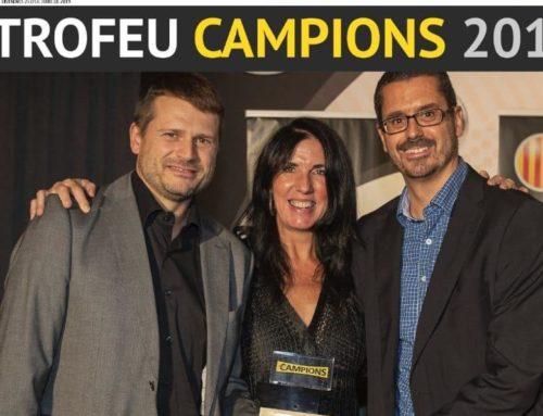 El Laietà premiat a la gala Trofeu Campions del Mundo Deportivo