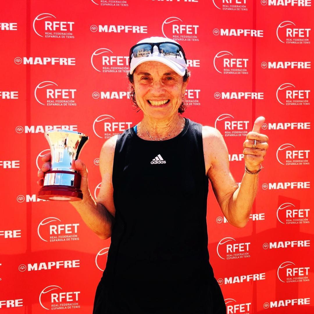 Rosa Mª Togores, Campiona d'Espanya de Tennis
