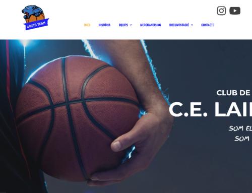 Estrenem nova pàgina web de la secció de Bàsquet