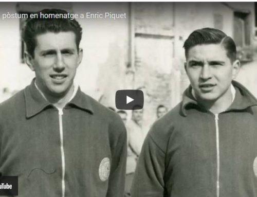 Vídeo pòstum en homenatge a Enric Piquet