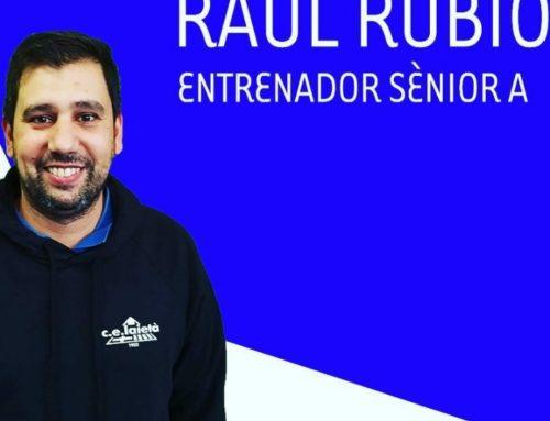 Raúl Rubio, nou entrenador Senior A de Bàsquet